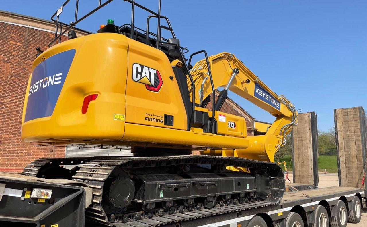 New Keystone CAT Excavator